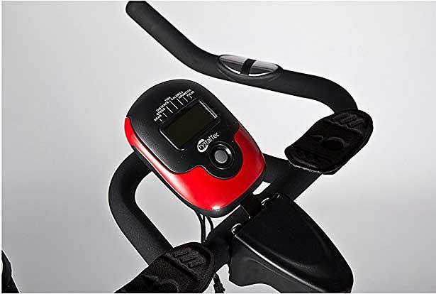 CrystalTec Aerobic Training Exercise Bike console