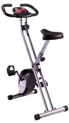 Ultrasport f-bike folding exercise bike
