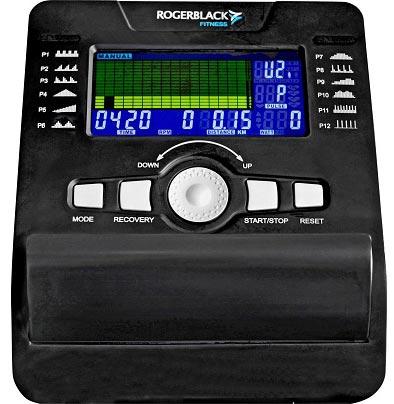Roger-Black-Programmable-Platinum-Exercise-Bike-Console