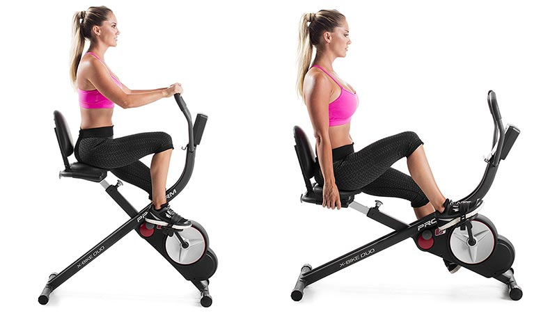 Proform Unisex X Duo Folding Indoor Exercise Bike